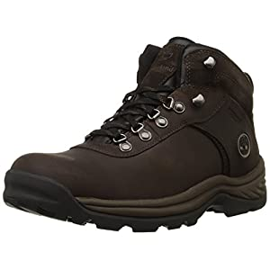 Timberland Men's Flume Waterproof Boot,Dark Brown,12 W US