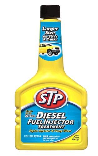 - STP Diesel Fuel Treatment & Injector Cleaner 1.25 pt (20 fl oz) 591 ml