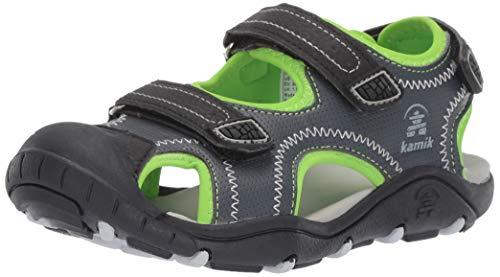 Kamik Footwear - Kamik Boys' SEATURTLE2 Sandal, Charcoal, 6 M US Toddler
