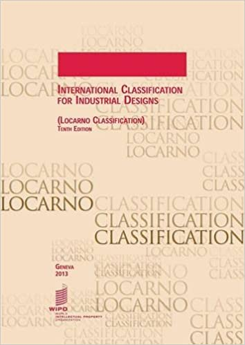 International Classification For Industrial Designs Locarno