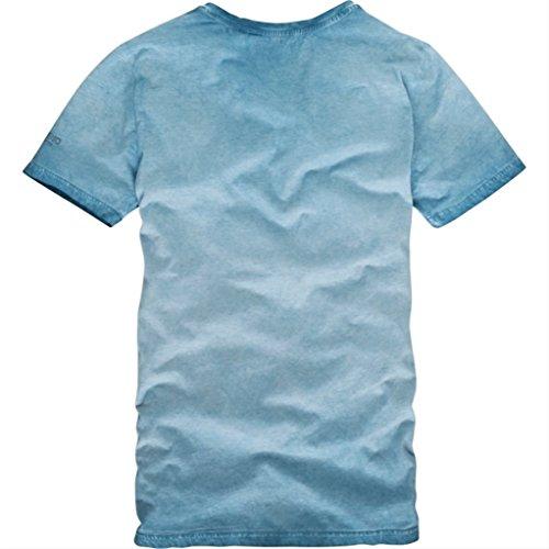 Pme legend blaue slim fit t-shirt