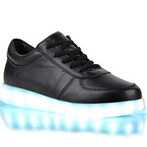 Mädchen Jungen kleines JUNGLEST® c9 führte Turnschuhe Handtuch LED Trainer Farben Present leuchten Kinder 7 Sneakers Sportschuh 80wdqwfa