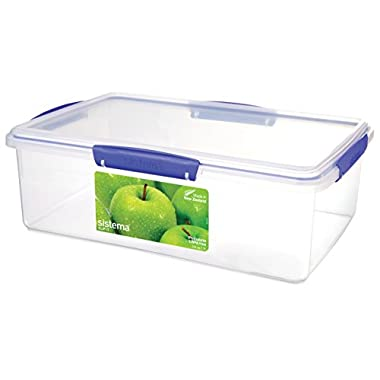Sistema Klip It Collection Rectangle Food Storage Container, 29 Cup