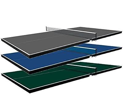 "Martin Kilpatrick Pool Conversion Table Top, 3/4"", Grey"