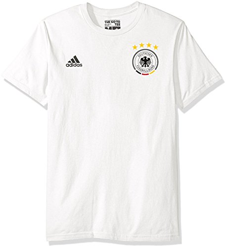 adidas Thomas Muller Germany National Team #10 Men's Player Name & Number T-Shirt White (Nationals Player Series)