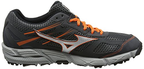 Mizuno Wave Kien 3 G-Tx - Zapatillas de running Hombre Gris (Dark Shadow/silver/clownfish)