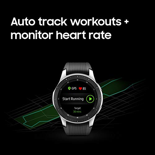 Auto track workouts and monitor heart rate
