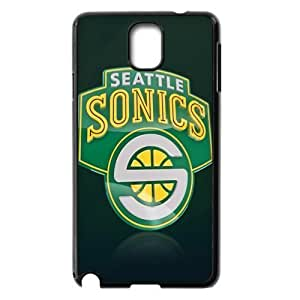 The logo of NBA for SamSung Galaxy Note3 Black Case Hardcore-9