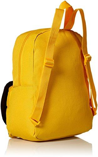 419IO IoB5L - John Deere Little Kids Boys Girls Toddler Backpack, CONSTRUCTION YELLOW, One Size