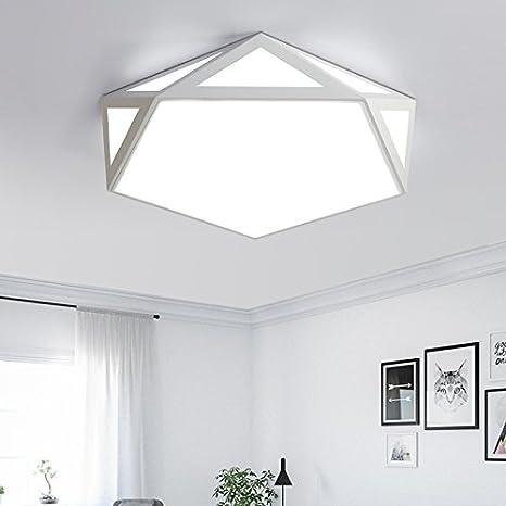 Renshengyizhan@ Hierro moderno llevó la luz de techo montada ...