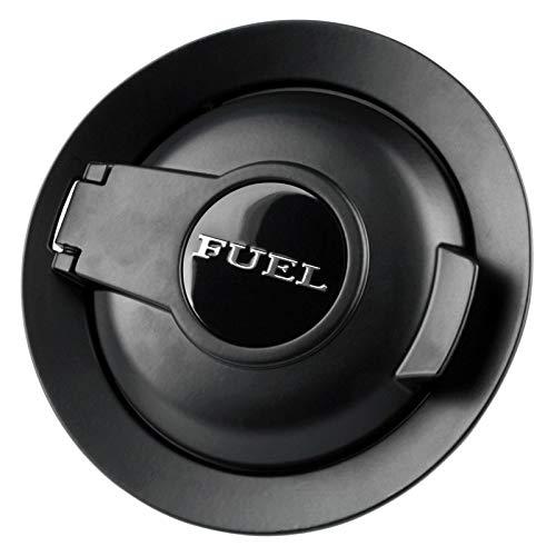 - for 2008-2019 Dodge Challenger Matte Black Vapor Edition Fuel Filler Door 68250120AA