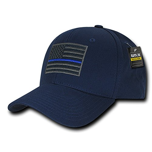 Rapdom Tactical USA Embroidered Operator Cap - Navy - Mall Miracle Mile