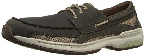 Dunham Men's Captain Boat Shoe,Olive,11 4E US