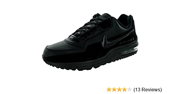 new product afa80 038ae Amazon.com  Nike Mens Air Max LTD 3 Running Shoes Black Black 687977-020  Size 11  NIKE  Shoes