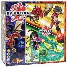 (Bakugan Battle Brawlers 100 Piece Puzzle - Dan and Shun by Bakugan )