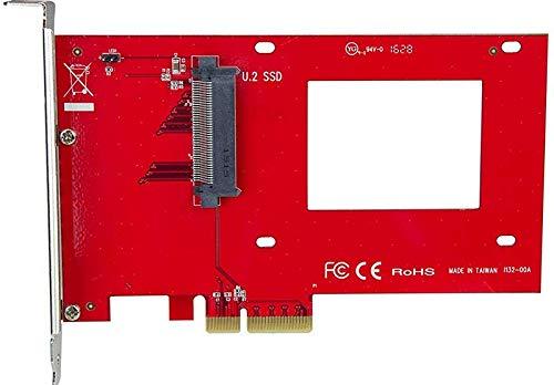 Adaptador Discos U.2 A Pcie 4x - U.2 Nvme Ssd Startech