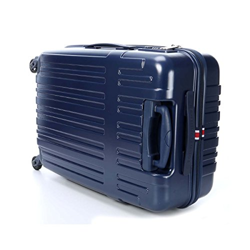 Tommy Hilfiger Empire Laptop Rollkoffer, 35 Liter, Navy