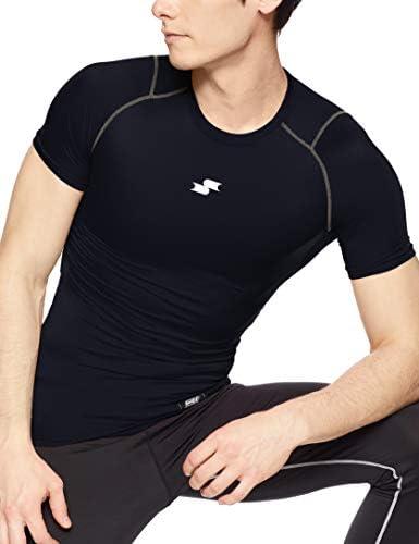 ベースボールウェア SC βやわらかローネック半袖フィットアンダーシャツ SCB019LH [メンズ]