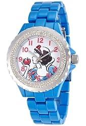Disney Women's W000999 Snow White Blue Enamel Watch