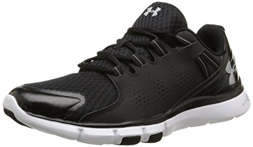 Under Armour Mens Micro G Limitless Trainers 7 US Black/White/Aluminum (Black/White/Silver) For Sale