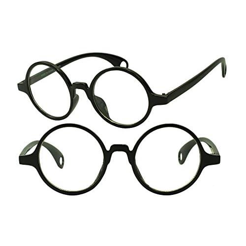 f223ee1b0356 Small Round Retro Vintage Horned Rim Keyhole Circle Fashion Sun Glasses  high-quality