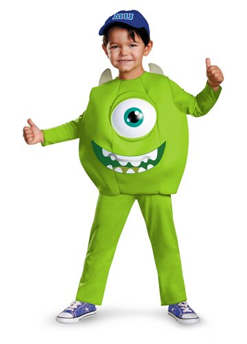 Disney Pixar Monsters University Mike Toddler Deluxe Costume, (Monsters In Costumes)