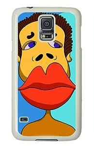 Original Designed Creative Picture Big Red Lips Case For Samsung Galaxy i9600 S5