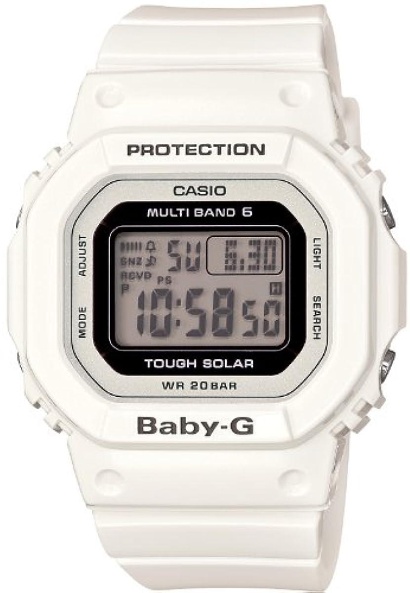 [해외] [카시오] 손목시계 BABY-G 전파 솔라 BGD-5000-7JF 화이트