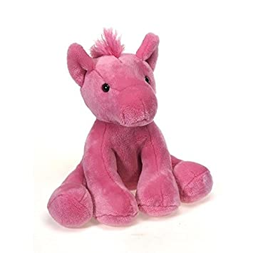Amazon Com Fiesta Toys Pink Horse Pony Plush Stuffed Animal Toy 8