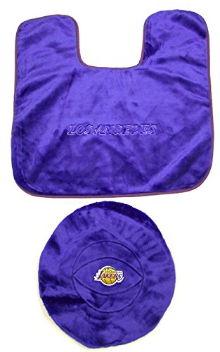 NBA Los Angeles Lakers Toilet Seat Cover Bathroom Set. Amazon com  NBA Los Angeles Lakers Toilet Seat Cover Bathroom Set