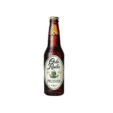 Cerveza Ocho Reales Pilsner Gluten free: Amazon.es: Alimentación y bebidas