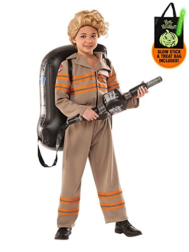 Ghostbusters Movie: Ghostbuster Female Deluxe Child Costume Treat