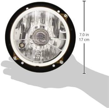 12,5 Ref Montage encastr/é FF//Halog/ène Endroit dassemblage: gauche//droite H4-12V HELLA 1A3 996 162-071 Projecteur principal