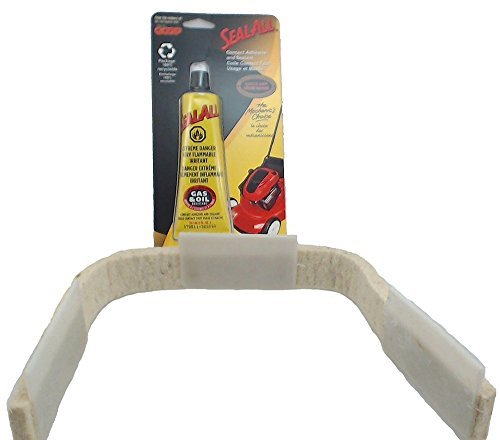 5303937139 or AP2150497 Clothes Dryer Front Felt Glide Assembly for Frigidaire, Electrolux, Gibson, Kelvinator And Westinghouse