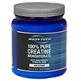 BodyTech 100% Pure Creatine Monohydrate 5 GM - Unflavored (32 oz Powder)