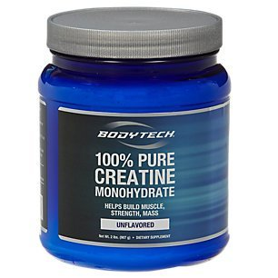 BodyTech 100% Pure Creatine Monohydrate 5GM - Unflavored (32 Ounce Powder)
