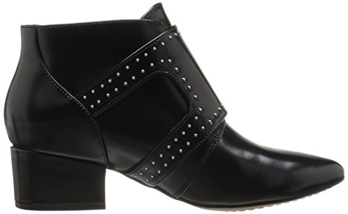 Roree Women's Black Bootie French Ankle Connection nUAgxTWqq0