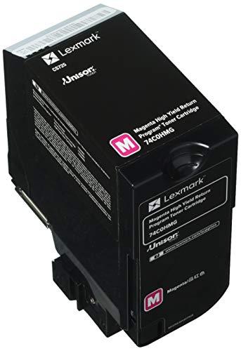 Lexmark High Yield Magenta Return Program Toner Cartridge for US Government, 12000 Yield (74C0HMG)