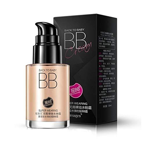 Redpol Women Natural Moisture Lasting Whitening BB Foundation Face Cream Skin Care BB Creams from Redpol