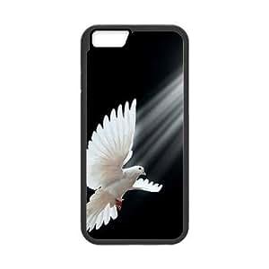 "White Dove Personalized Case for Iphone6 Plus 5.5"", Customized White Dove Case"