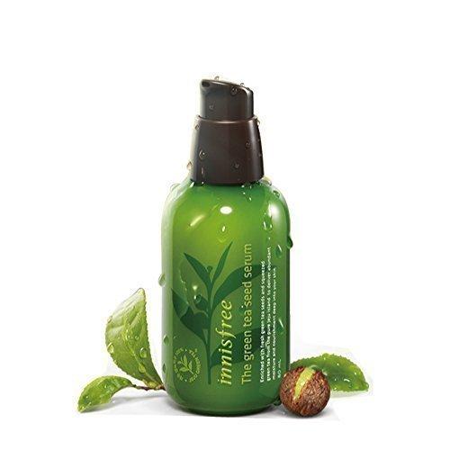 Innisfree The Green Tea Seed Serum 100% Organic Ingredient 2.7 Oz/80Ml (Including a Sample)