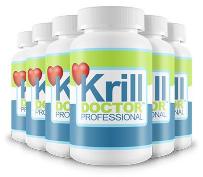 1200mg High Strength Krill Oil Per Serving Six Pack - Sourced from the Antarctic Ocean, As seen in Dr Hilary Jones Live to 100 by Krill Doctor by Krill Doctor