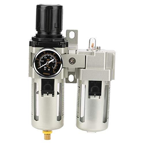 Air Filter Pressure Regulator Gauge,1/2 Air Filter Pressure Regulator Air Filter Pressure Regulator Combo, Compressed Air Gas Filter Regulator: DIY & Tools