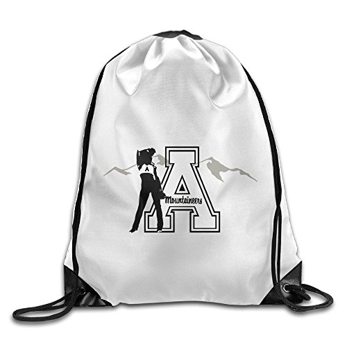Bekey Appalachian State University Drawstring Backpack Sport Bag For Men & Women For Home Travel Storage Use Gym Traveling Shopping Sport Yoga - Jose San Rose Santana
