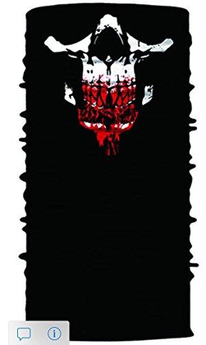 Mayhem Masks Skull Face Mask Tube Bandana Balaclava Snowboard Moto X Face Protection Harley Davidson Snowboard Ski Mask Multi Function Tactical Seamless