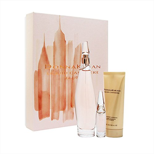 Donna Karan Liquid Cashmere Women's Gift Set, Blush, 3 Count