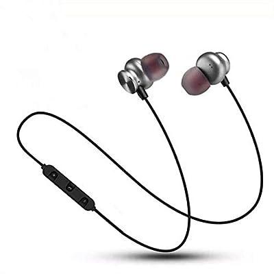 cindere Wireless Bluetooth Headphones Metal Magnetic Stereo Sport Binaural Earphone
