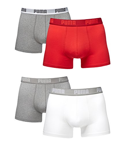 Puma Basic Uni Weiß Lot Boxer De rot Homme 2 rrqEd6wnC