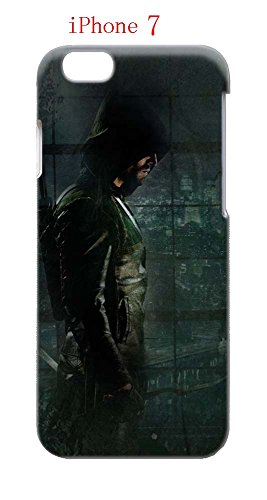 Laurel Lance Arrow Costume (iPhone 7 Case, The TV Series Arrow 13 Drop Protection Never Fade Anti Slip Scratchproof 3D Hard Plastic Case)