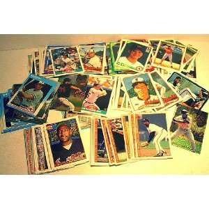40 Different Baltimore Orioles Baseball Cards from 1980-1989 - Shipped in Protective Display Album Topps Fleer Donruss Sc